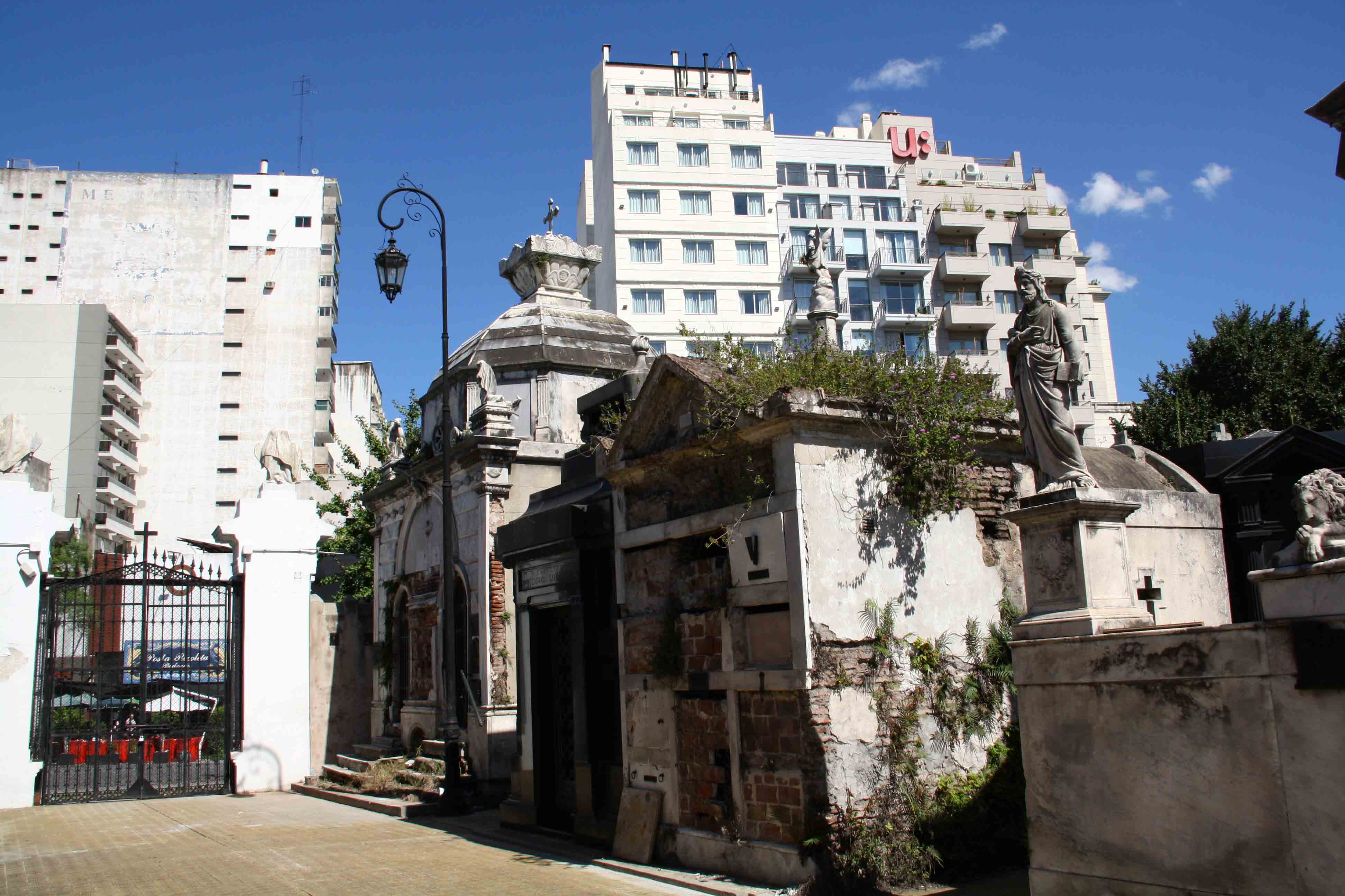 Tomb Eva Perron recoleta cemetery Buenos Aires