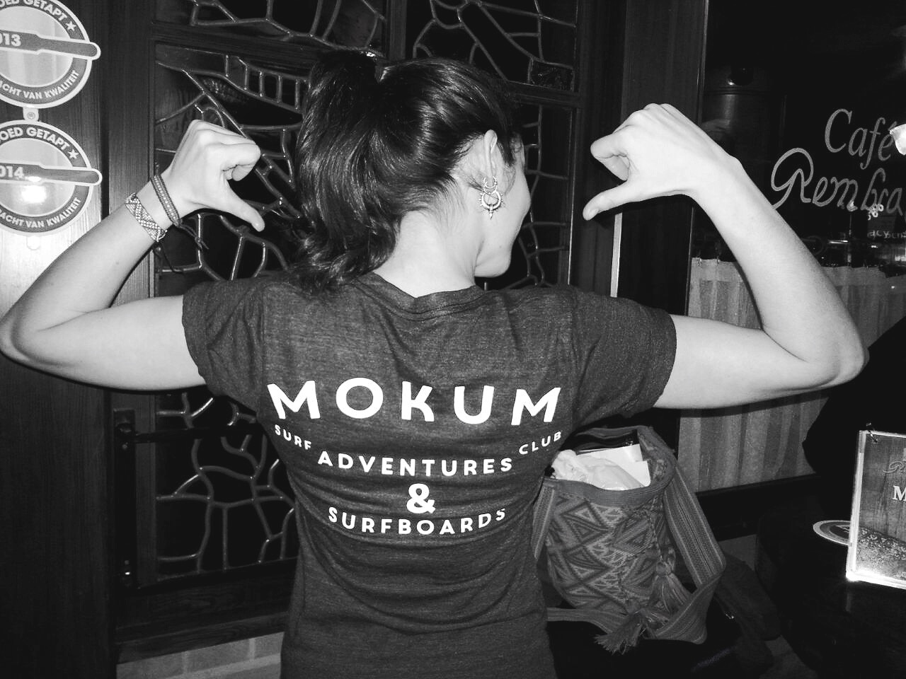 mokum surf club t-shirt
