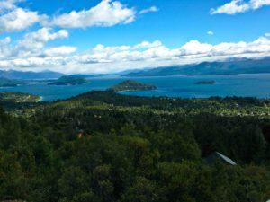 Bariloche view lakes