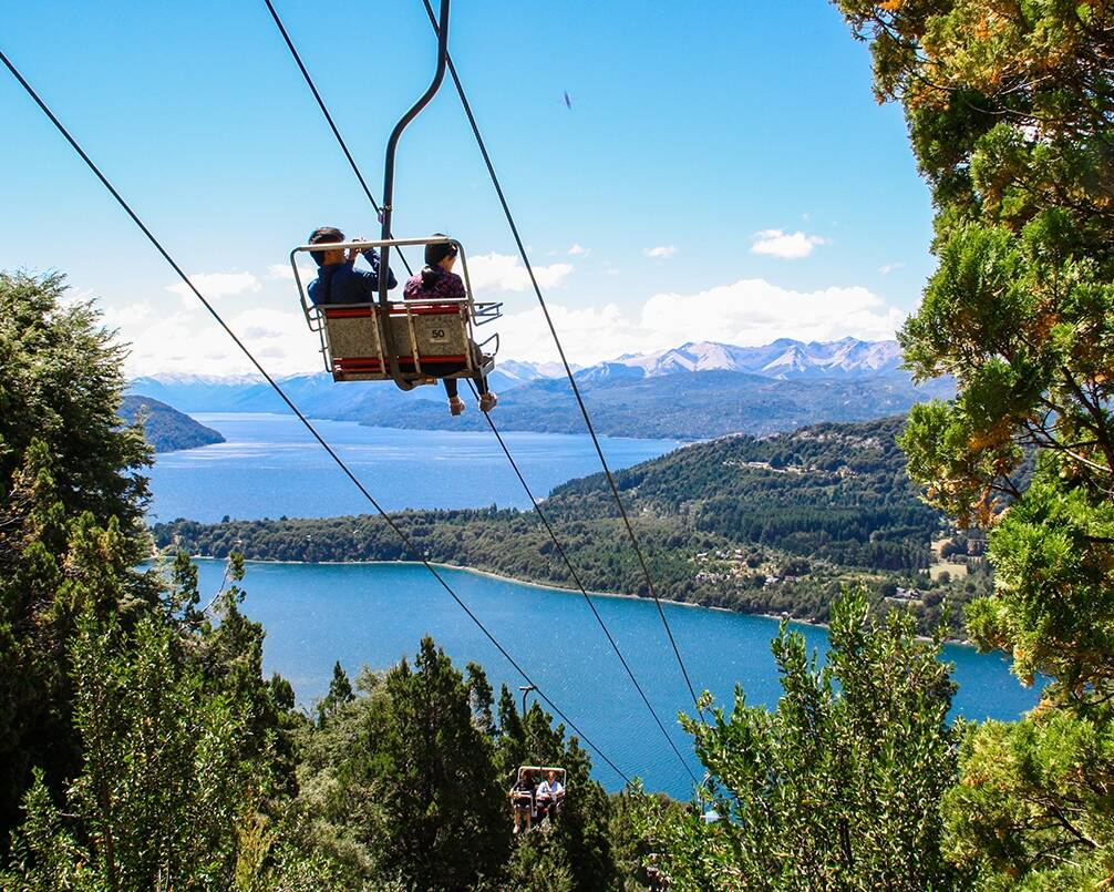 Cerro Campamiento view in Bariloche Argentina