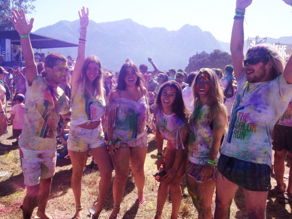 Colorrun Chili pucon girls group