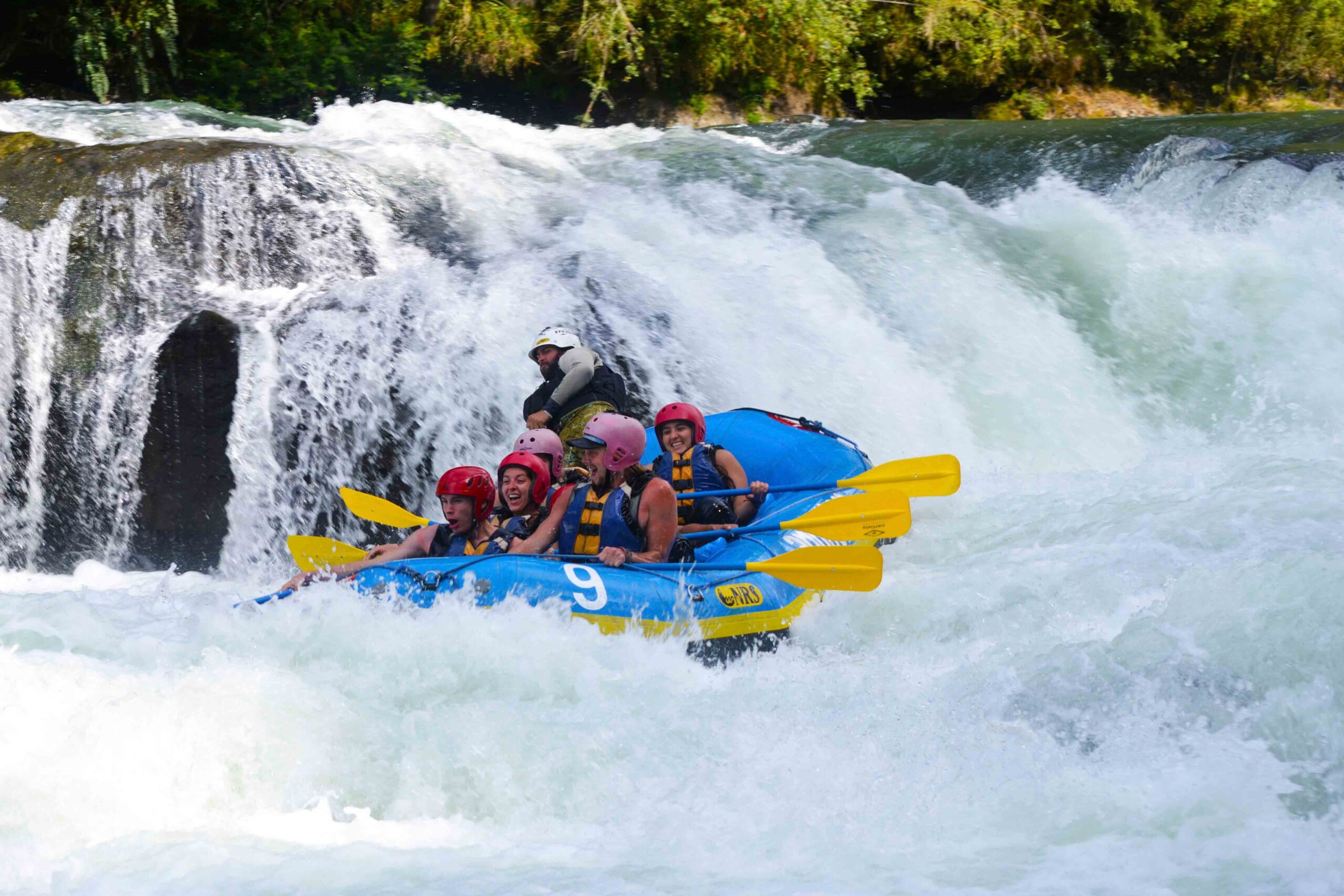 White water rafting in Pucon Chile