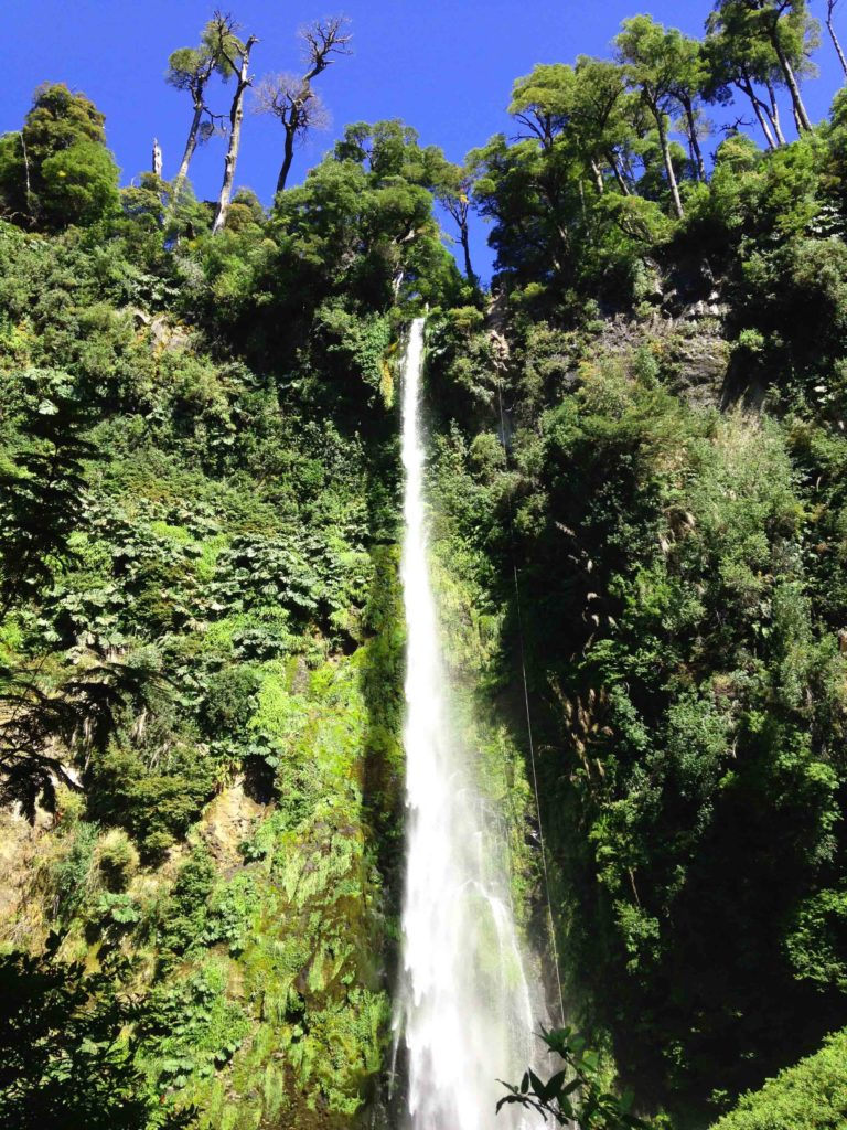 pucon waterfalls