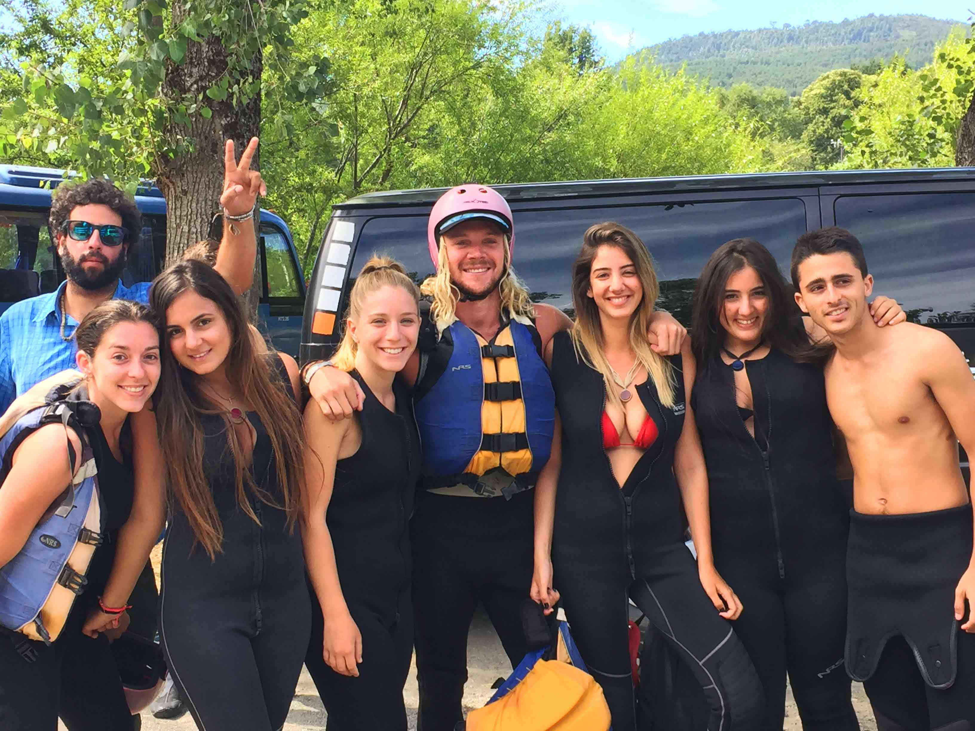 pucon rafting group
