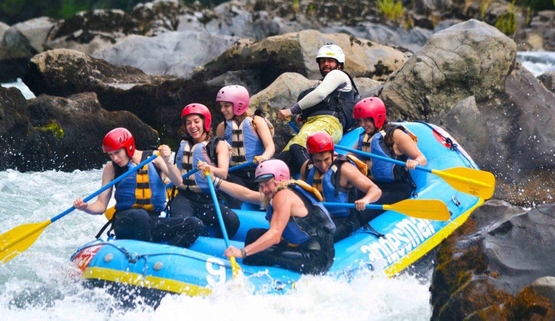 rafting chili pucon