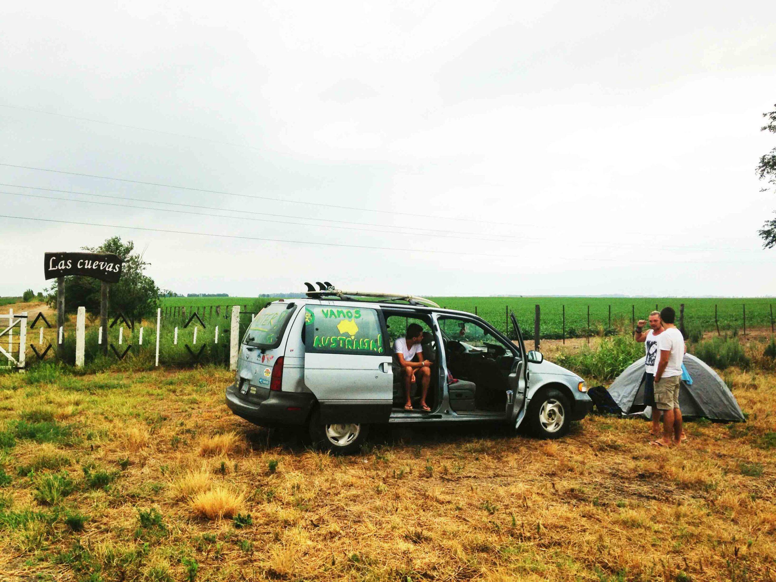 Road trip through Patagonia Argentina