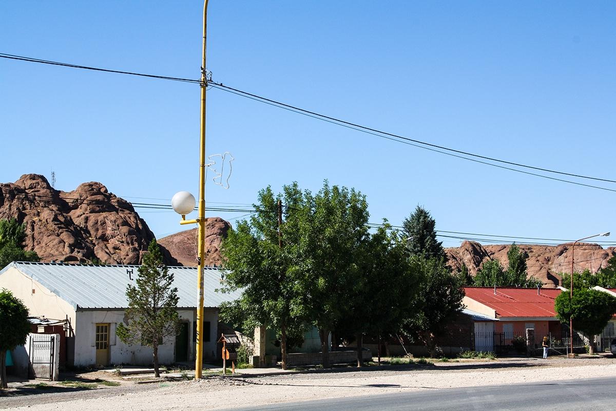 Village in Patagonia Argentina