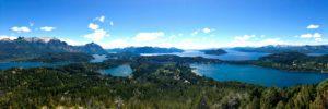 Lake views over Bariloche Argentina