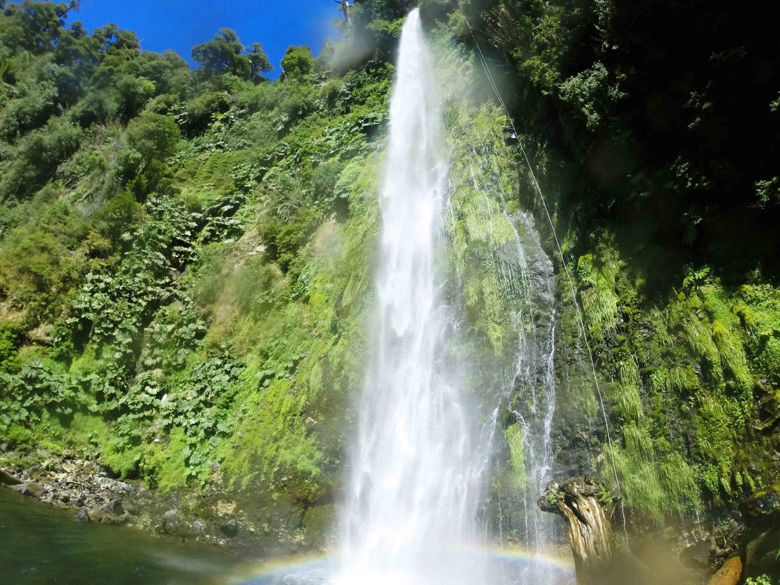 waterfalls in Pucon Chile