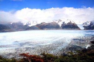Glacier Grey in Torres del Paine Chile