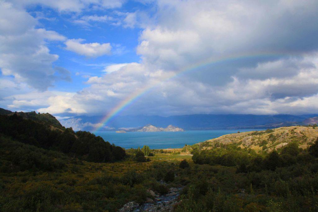 View rainbow lago carrera