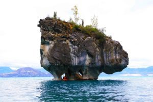 kayaking marble caves chile