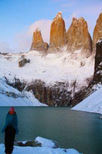 Torres del Paine sunrise in Chile