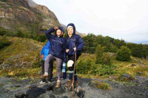 professional trekking girls