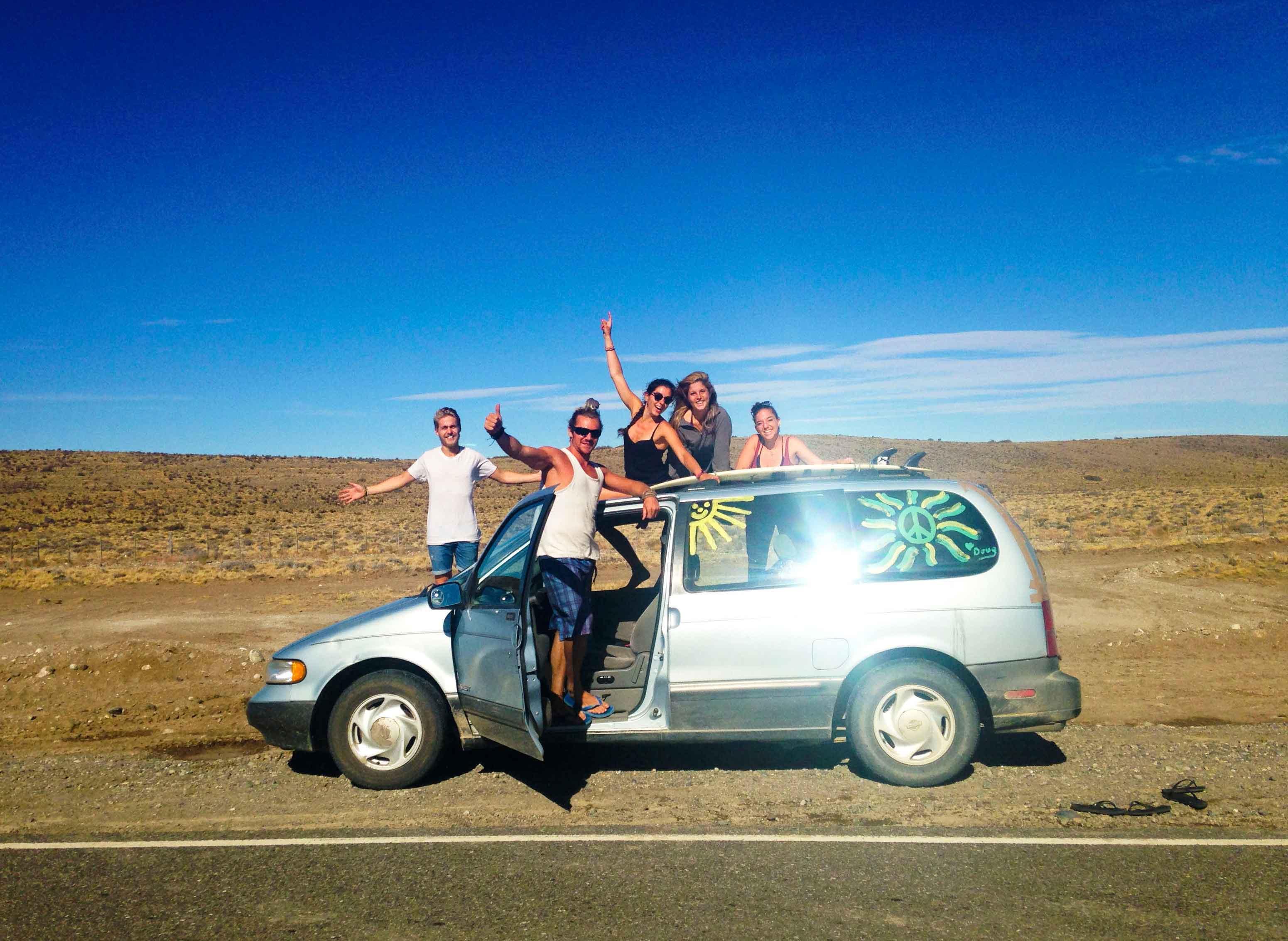 roadtrip car patagonia