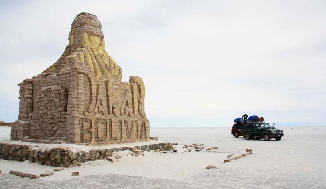 dakar rally bolivia salt flats