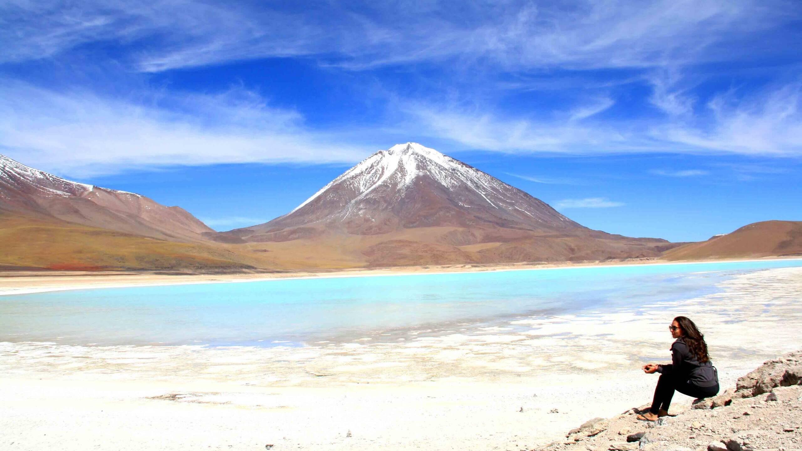 laguna verde uyuni de salar tour bolivia