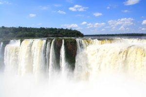 Iguazu waterfalls in Argentina