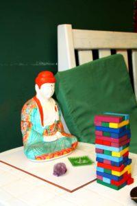 jenga games buddha mango chill hostel