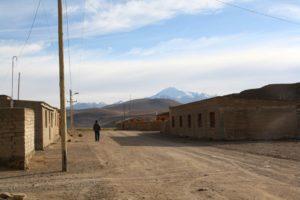 Bolivian village in Uyuni