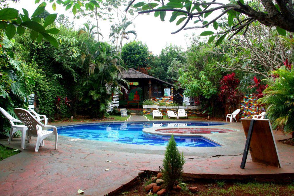 swimmingpool mango chill hostel