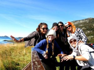 friends end of the world ushuaia tierra del fuego