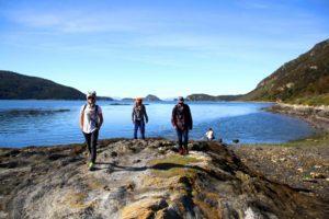 views over Tierra del Fuego National Park Argentina