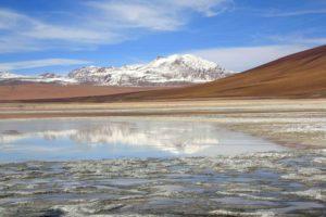 Mountain views during Uyuni Tour Bolivia