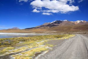 Uyuni tour scenery in Bolivia
