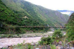Inca Jungle Trail in Peru views