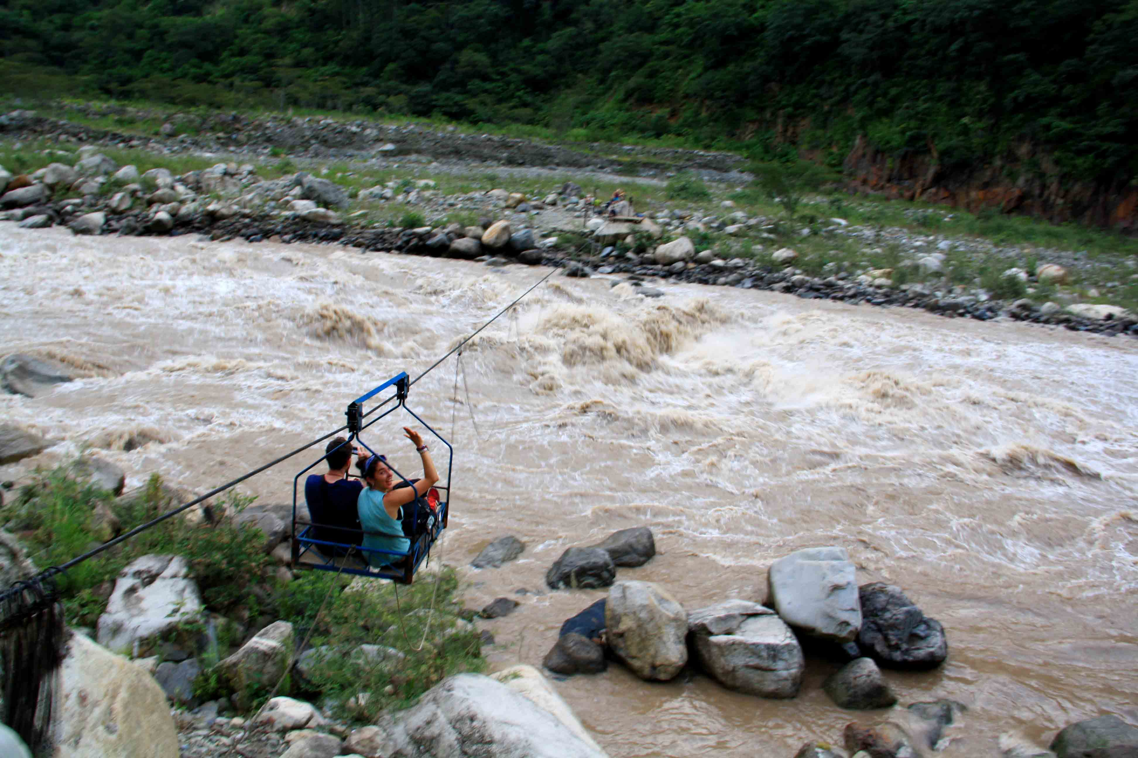 bridge system inca jungle trail
