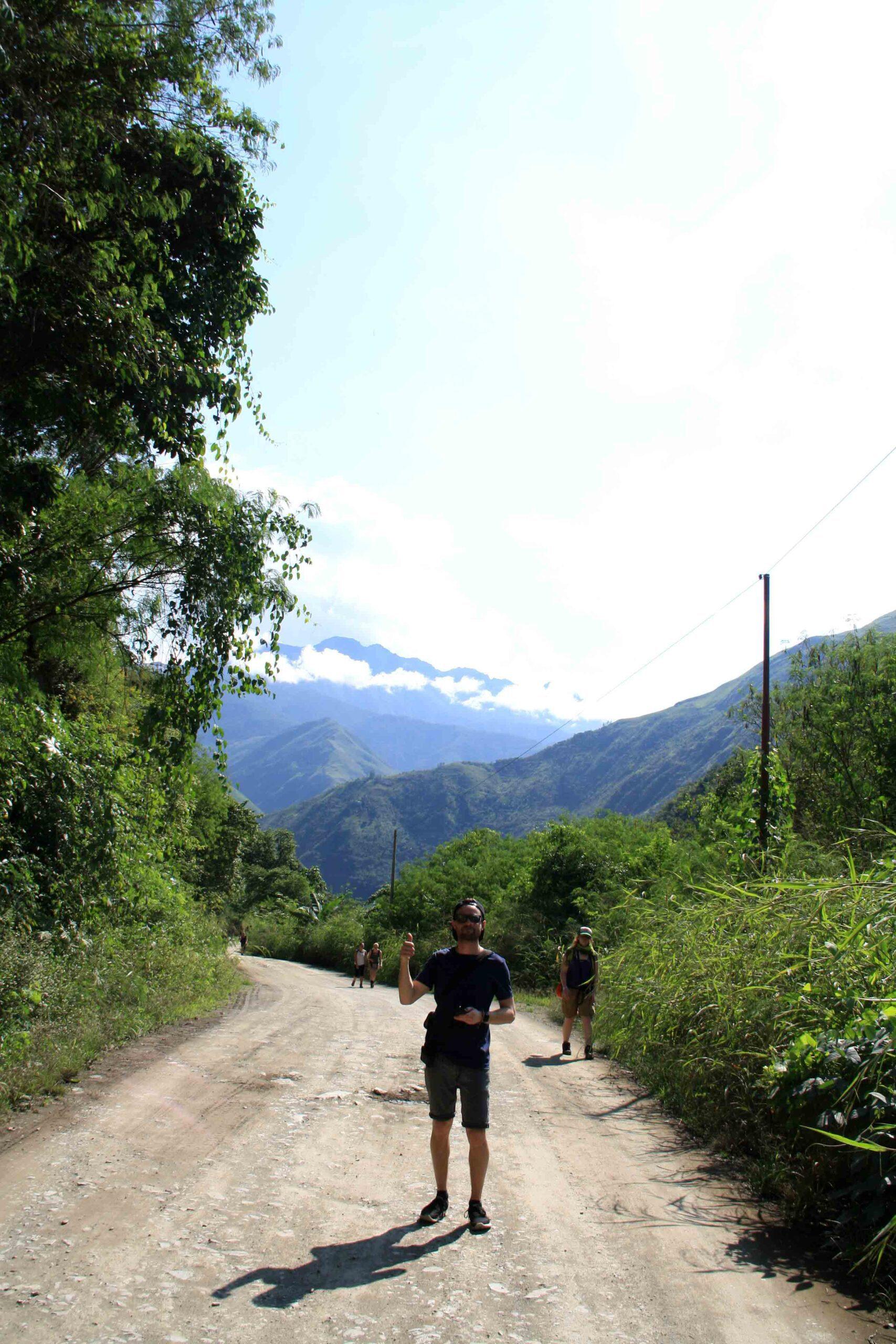 inca jungle trail trekking