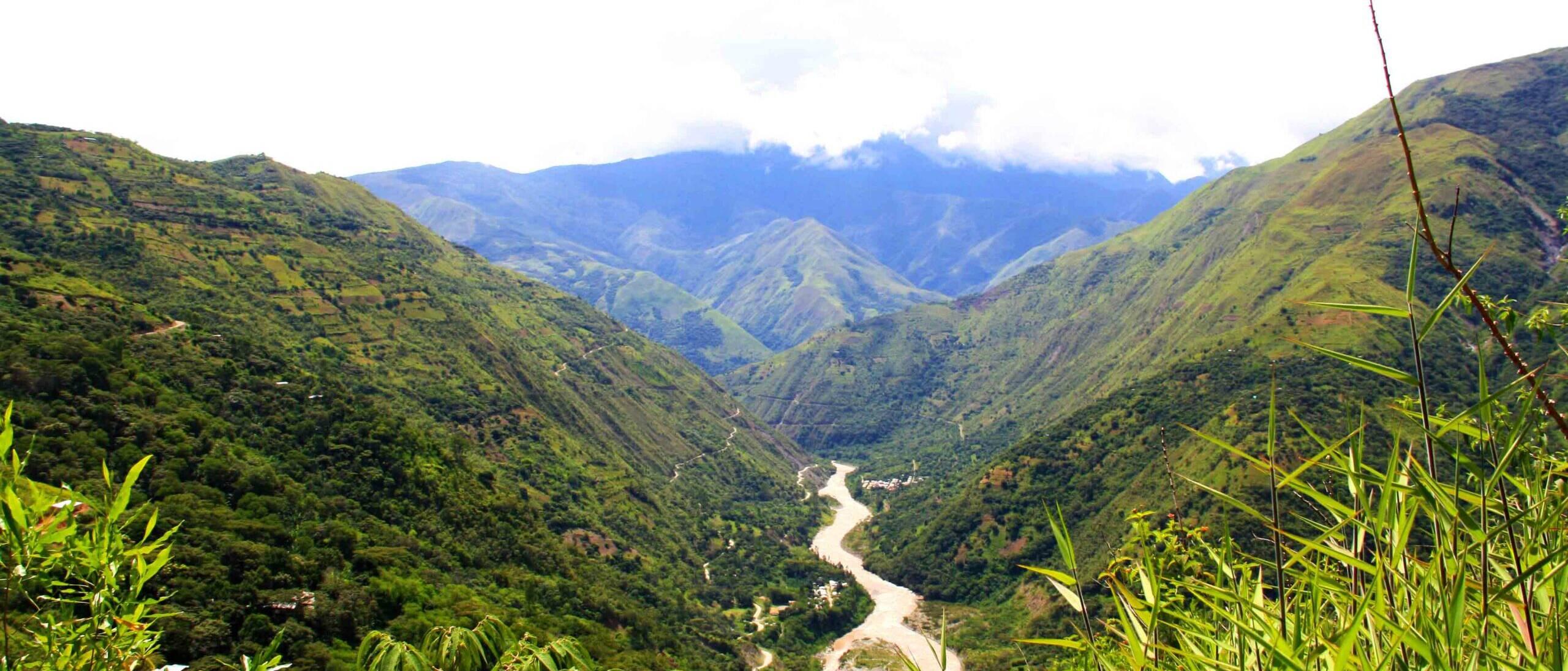 Inca Jungle Trail views in Peru