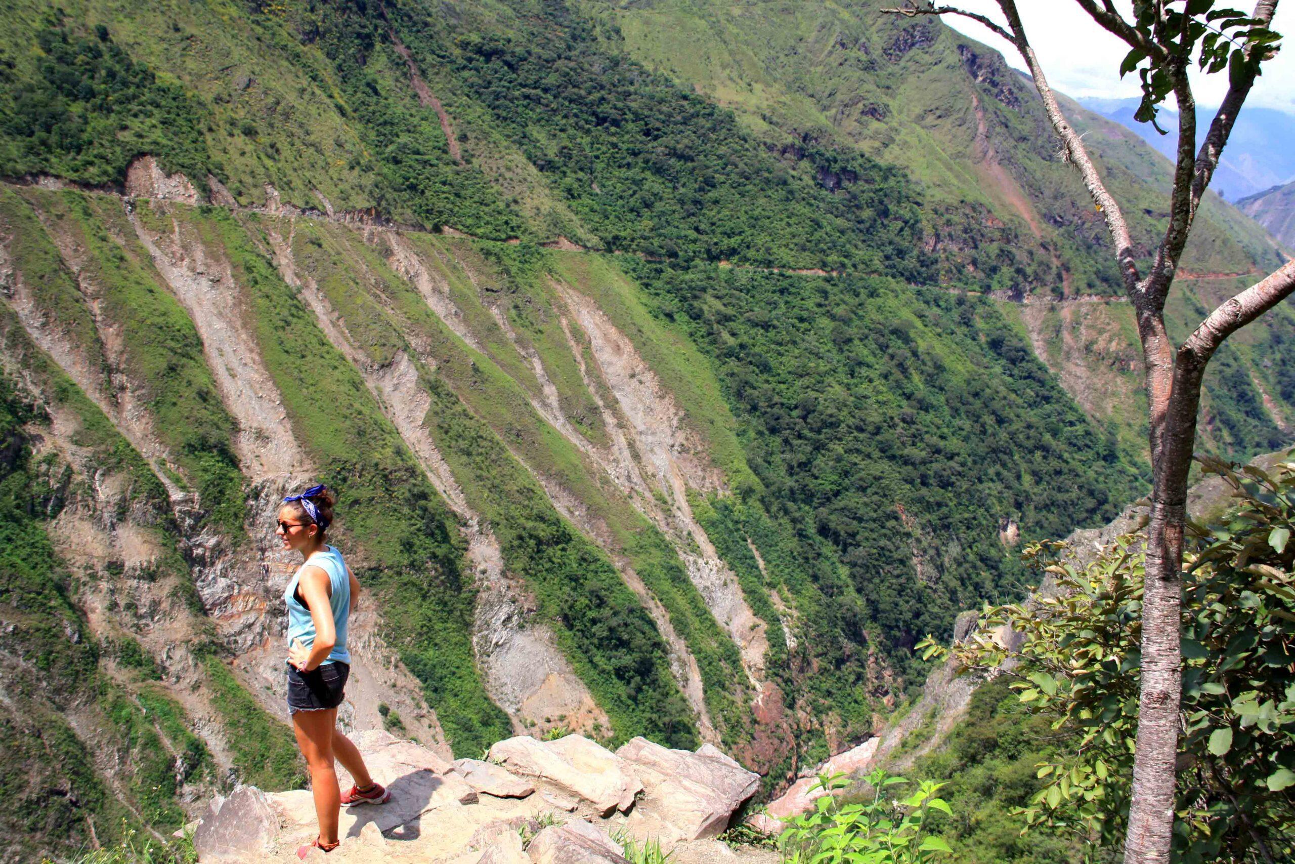 Views of the Inca Trail in Peru