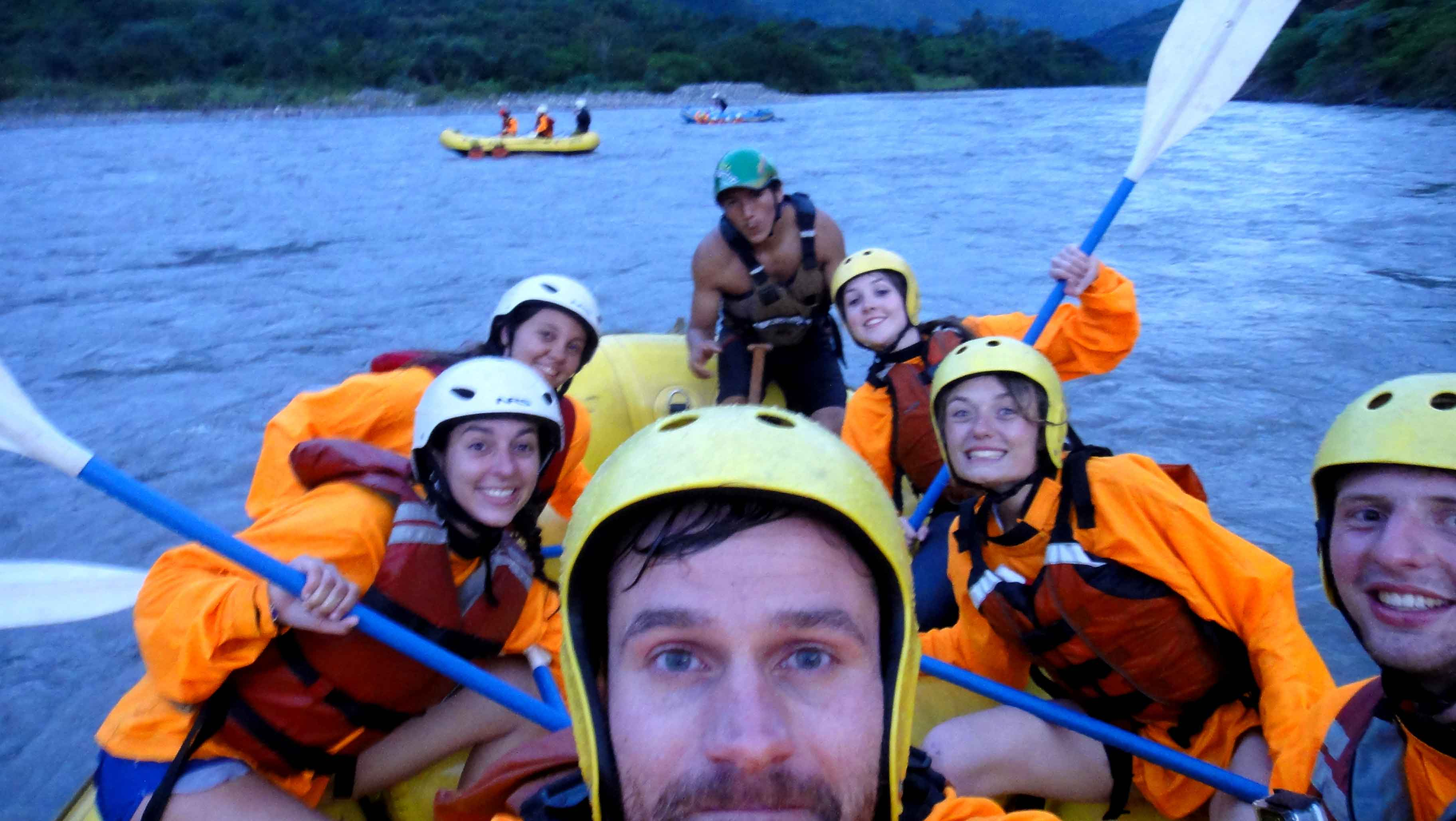 rafting river santa theresa