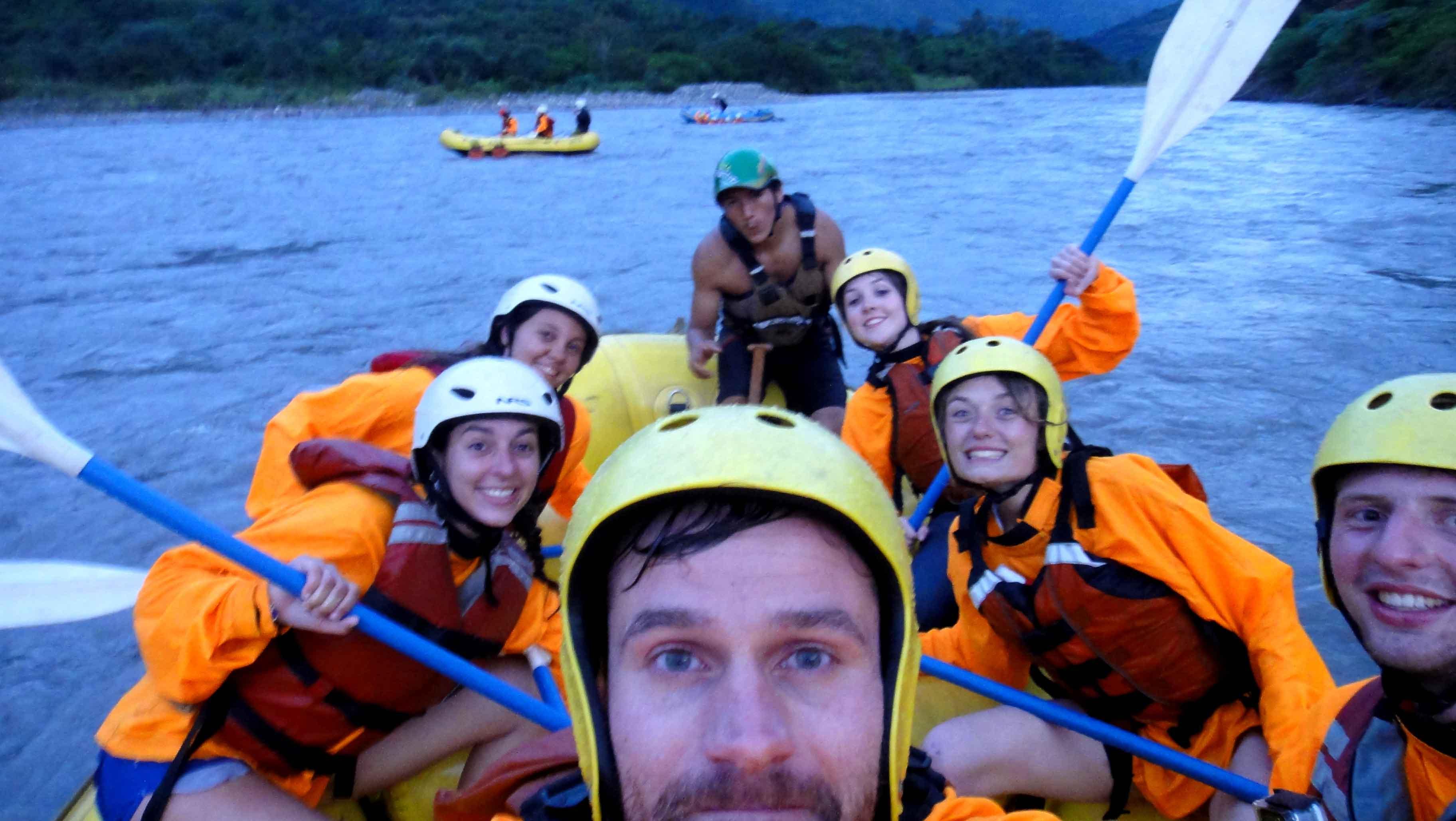 rafting river santa theresa