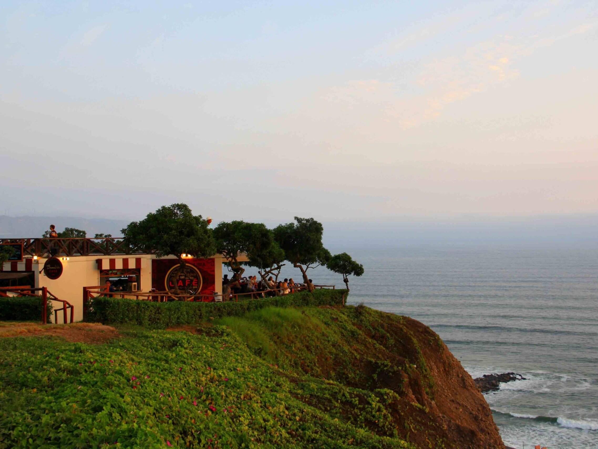 buena vista cafe in Lima Peru