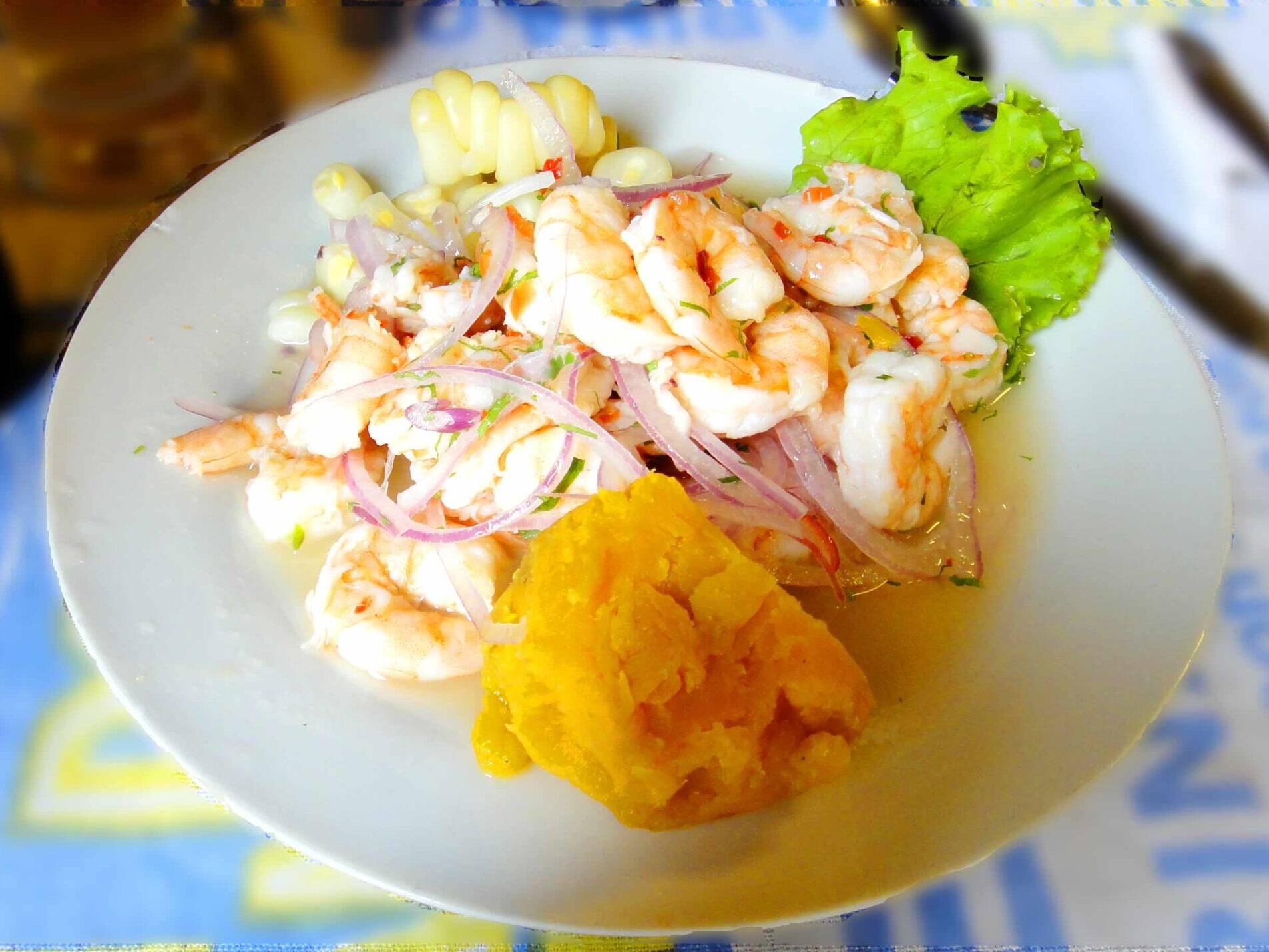 shrimp ceviche canta rana lima