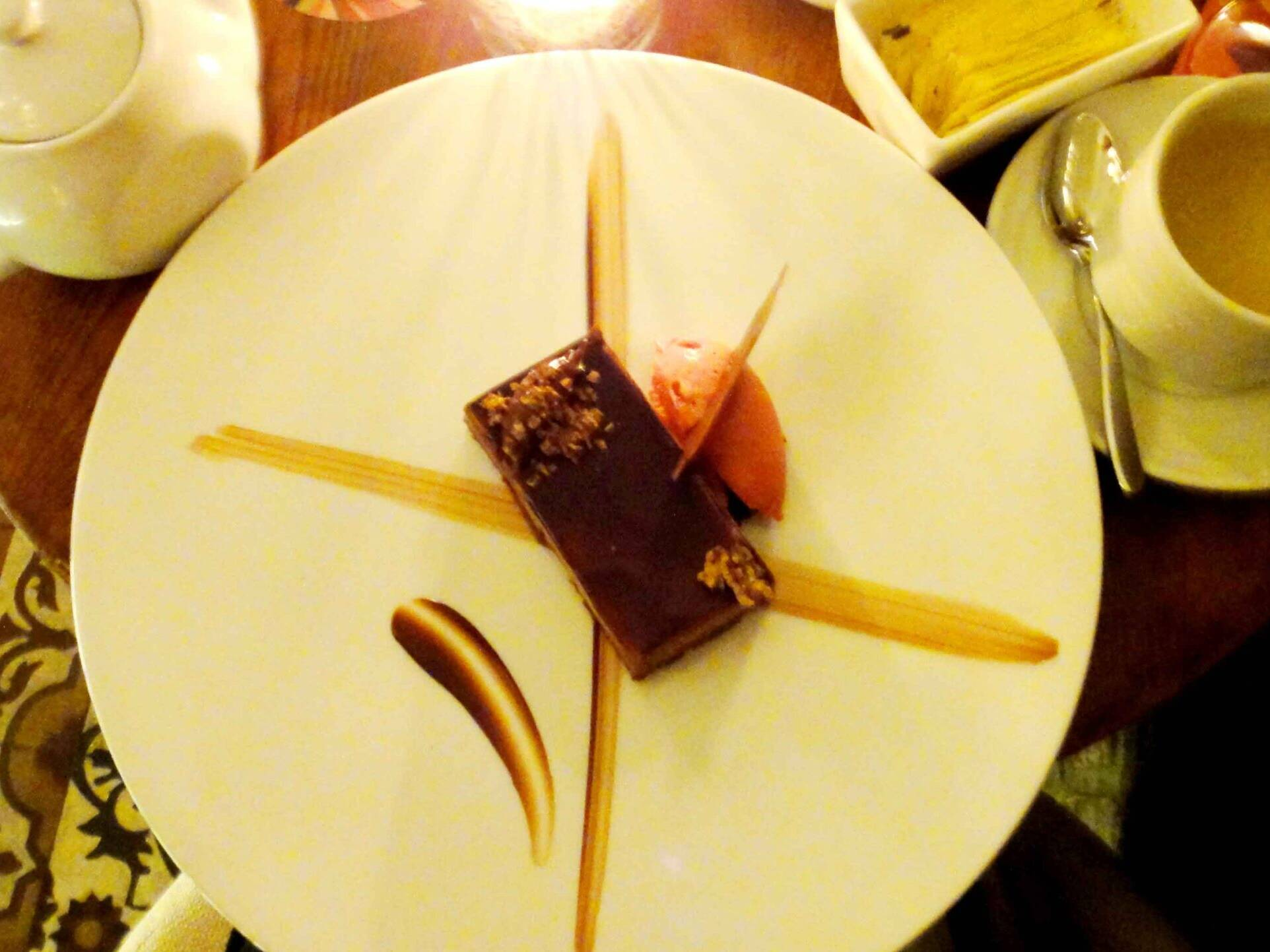dessert at Rafaels Lima