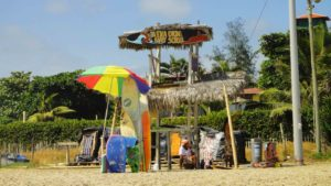 Beach life montañita surf shop in Ecuador
