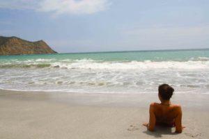 beach los frailes machalilla national park