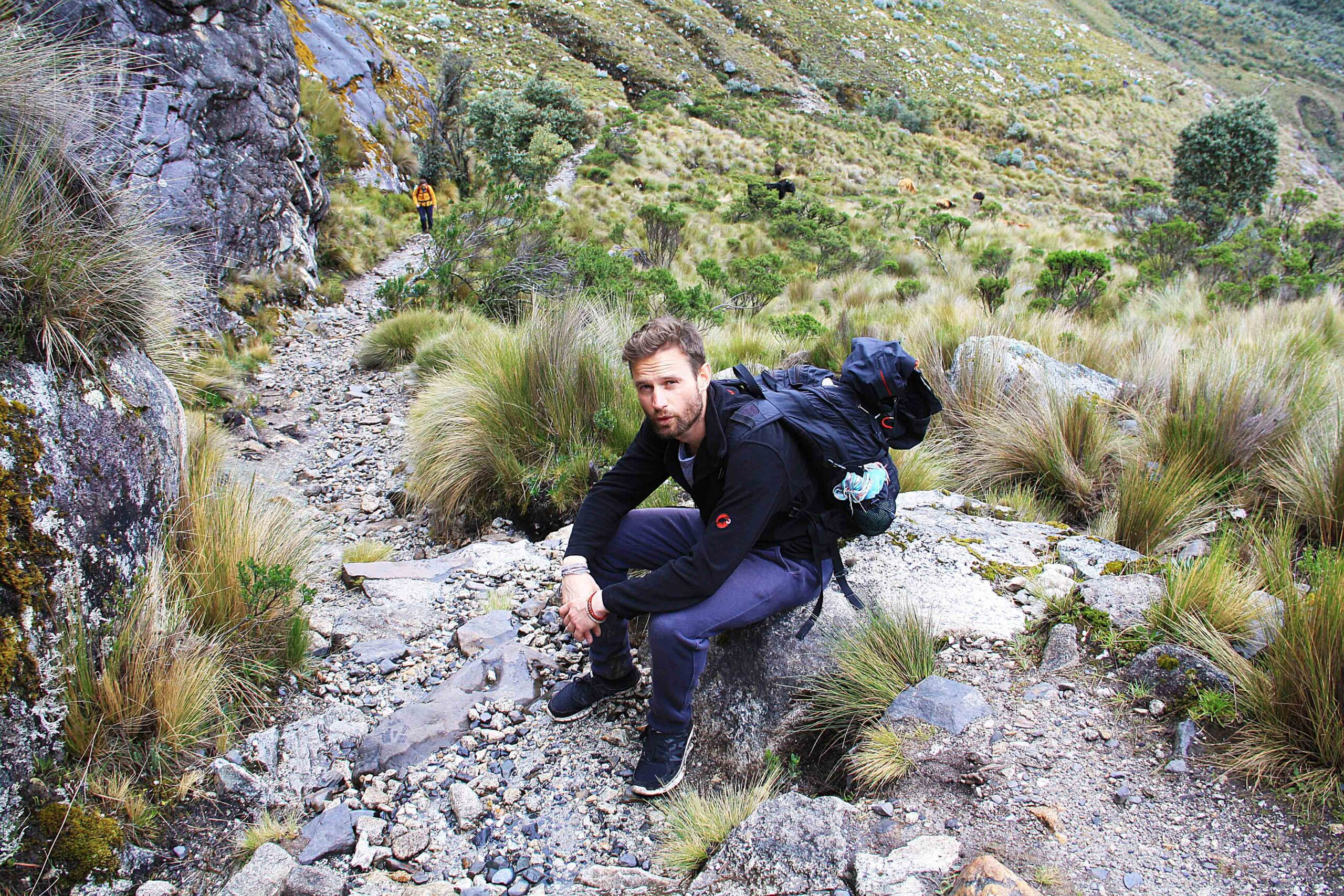 altitude struggles climbing laguna 69