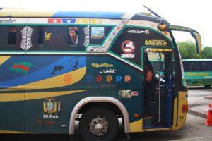 local bus in Ecuador