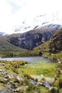 green lake trekking laguna 69