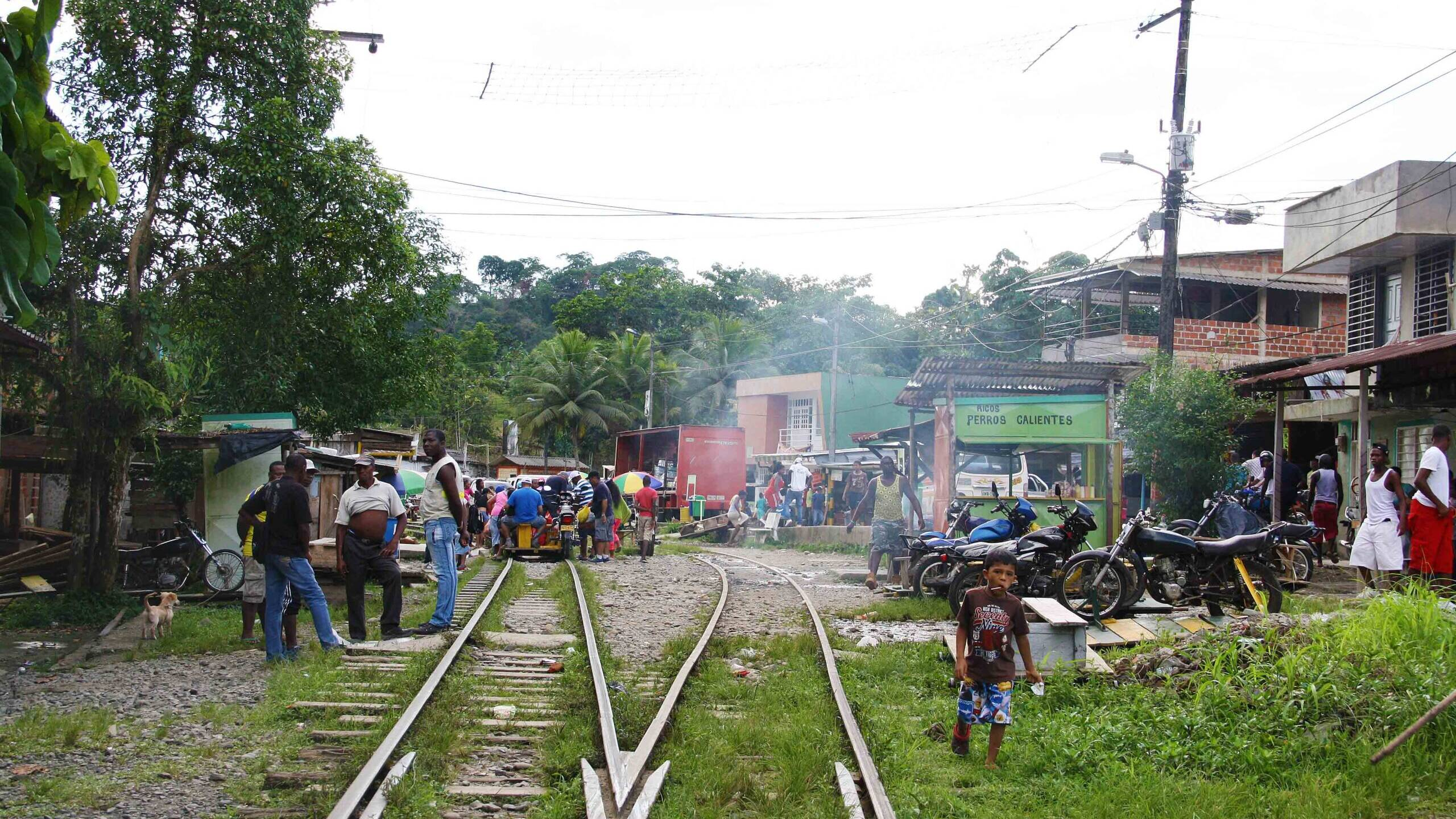 jungle town colombia