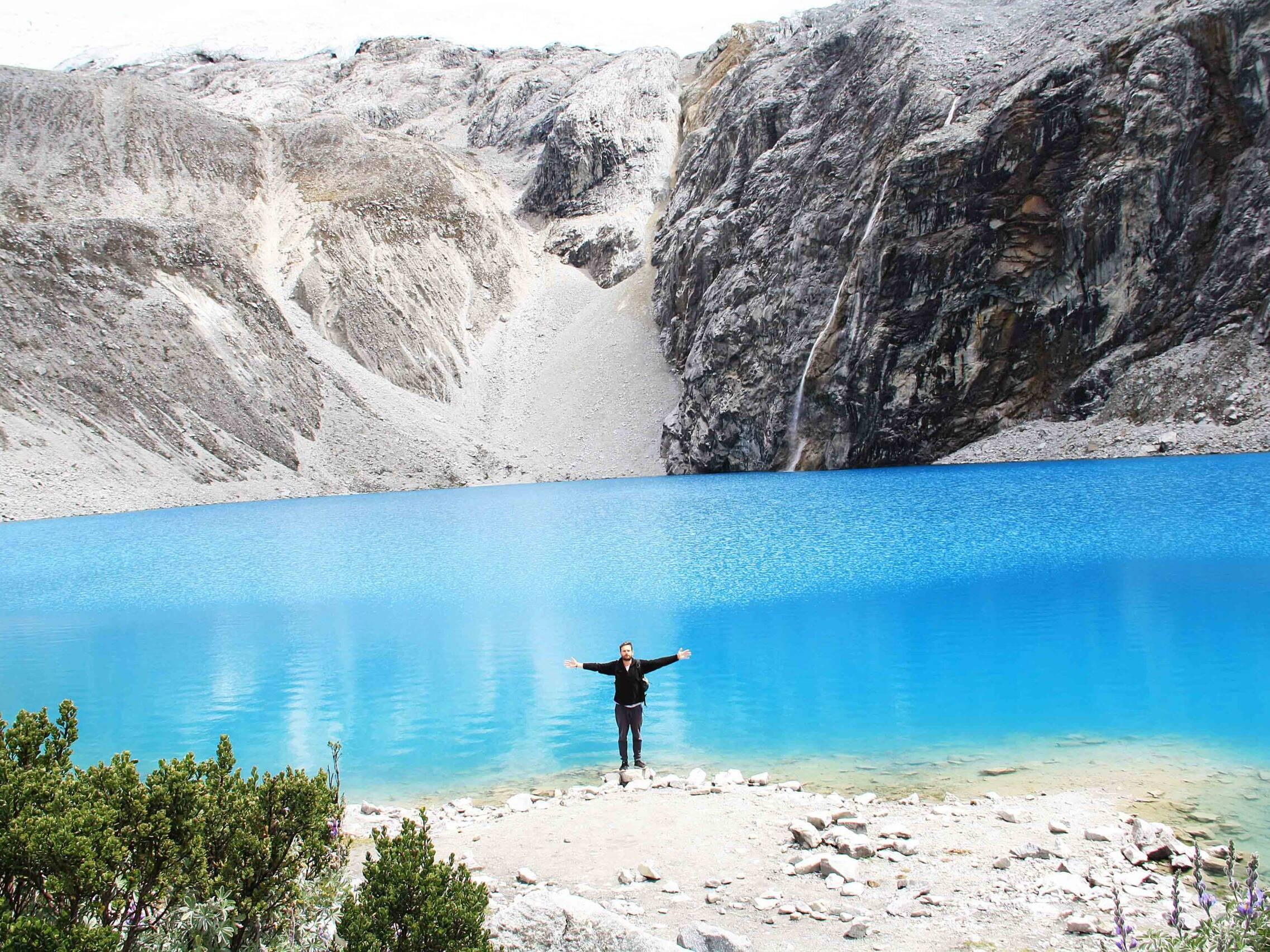 laguna 69 huaraz in Peru