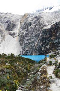 laguna 69 view in Huaraz Peru