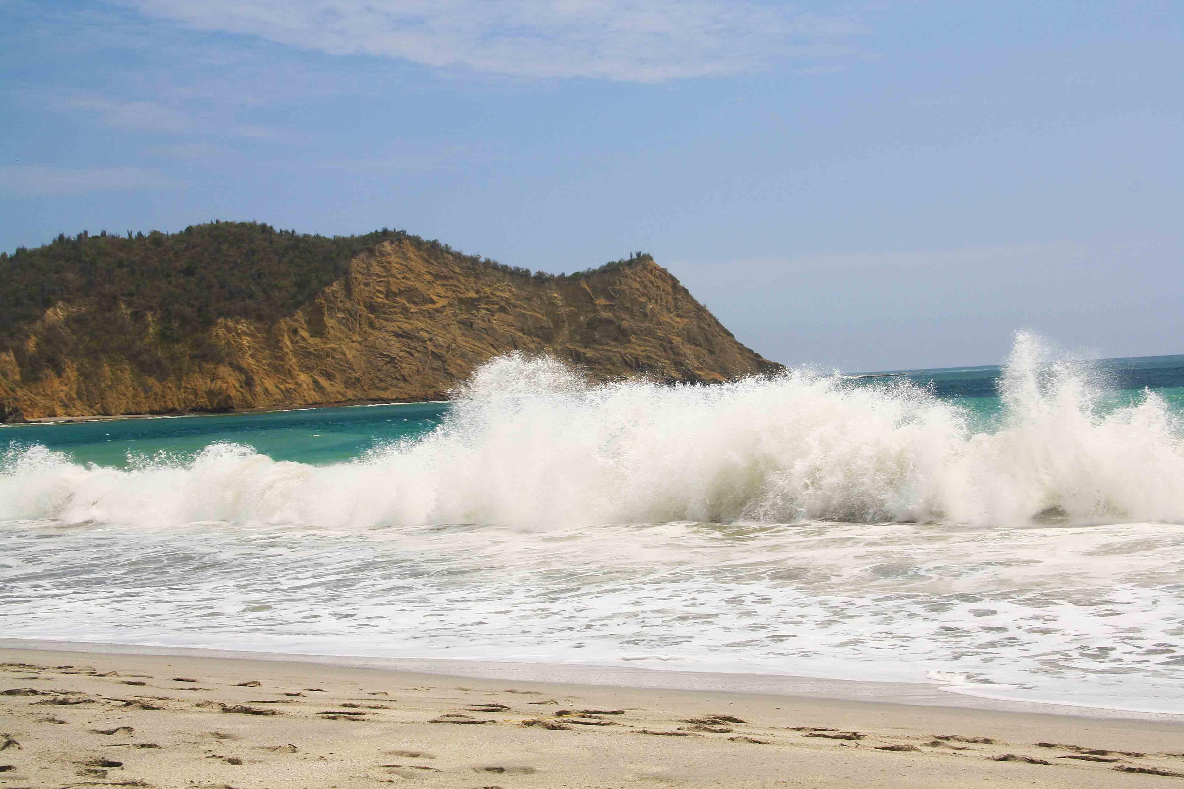 frailes beach machalilla Beach