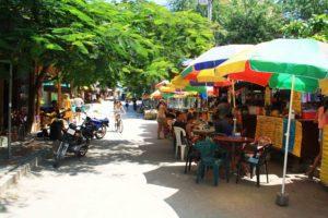 Montanita Street life food