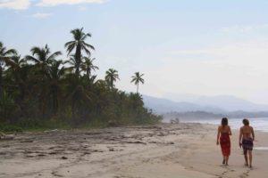 beach walks at costeno beach